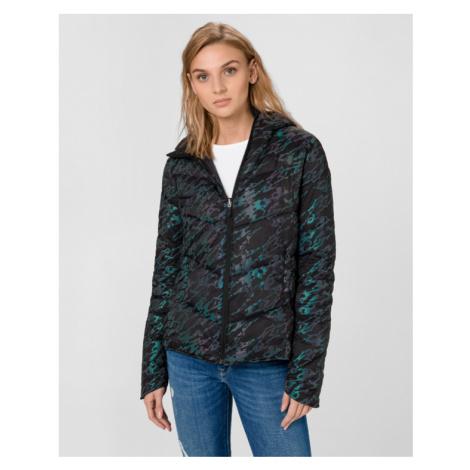 Desigual Iridescent Jacket Schwarz Blau