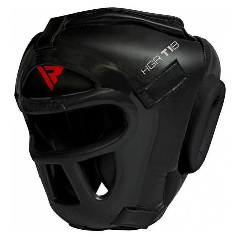 RDX T1 Kopfschutz Mit Abnehmbarem Gesichtsschutzgitter Schwarz