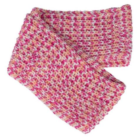 Lewro PRUNELLA rosa - Winterschal für Mädchen