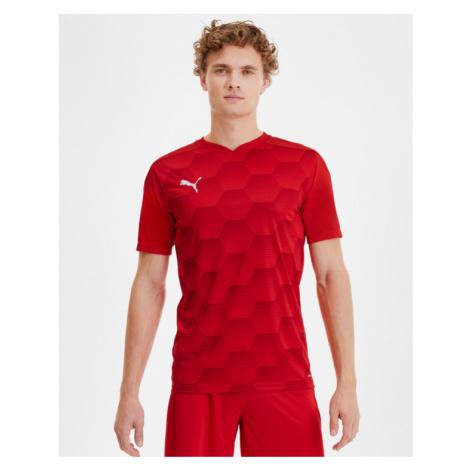 Puma teamFINAL 21 T-Shirt Rot
