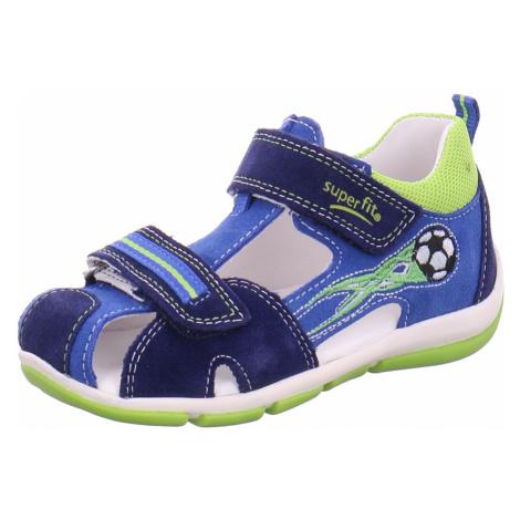 Unisex Superfit Jungen Sandalen blau