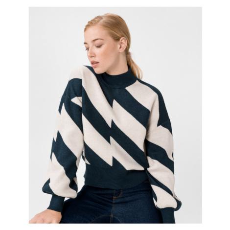 Vero Moda Labinew Pullover Blau Beige