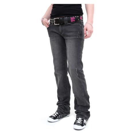 Damen Hose (Jeans) CIRCA - Engineered Straight Jean - BLACK XL