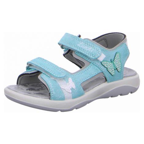 Unisex Lurchi Mädchen Sandalen blau Sandale Mädchen