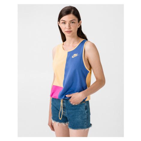 Nike Sportswear Icon Clash Unterhemd Blau Gelb