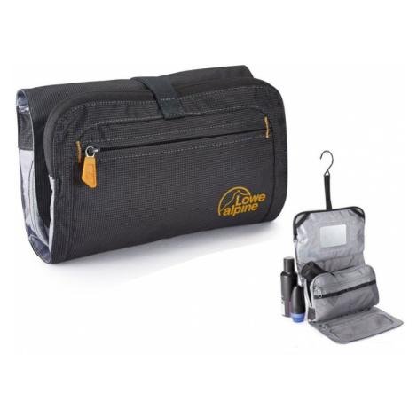 Kosmetiktasche Lowe Alpine Rollup Wash Bag Anthrazit / gelb
