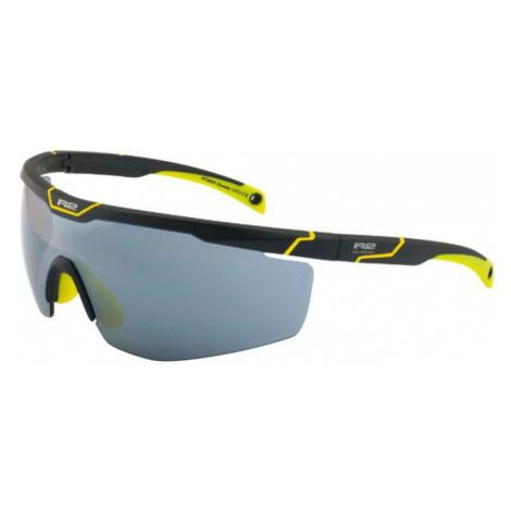 Sport- Sonnen- Brille R2 Speedy schwarz yellow AT088A