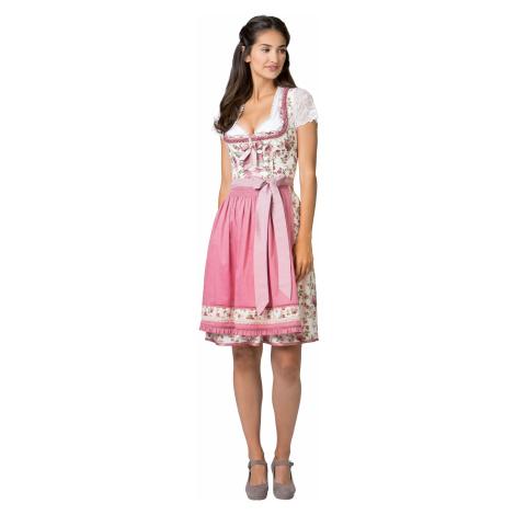 Rosa ärmellose kleider