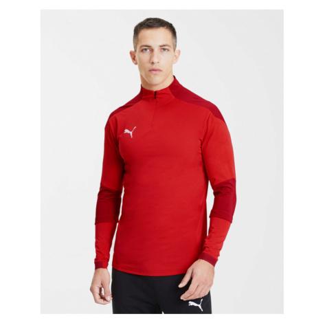 Puma teamFinal 21 Sweatshirt Rot