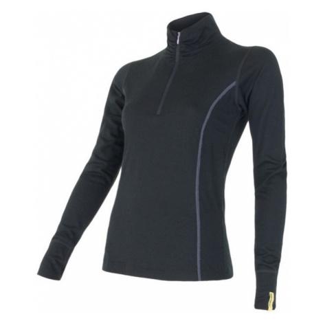 Damen T-Shirt Sensor Merino Wool Active black 11109018