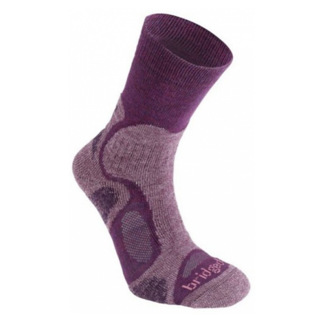 Socken Bridgedale CoolFusion TrailBlaze damen ML plum/350