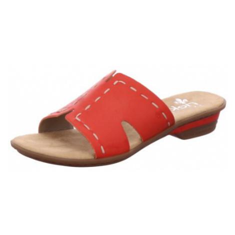 Damen Rieker Klassische Sandalen rot
