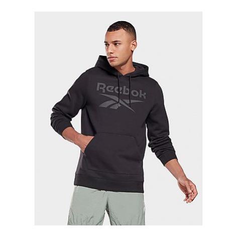 Reebok reebok identity fleece hoodie - Black / Black - Herren, Black / Black