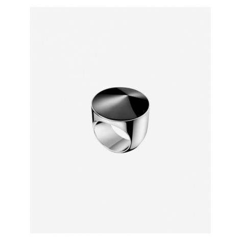 Calvin Klein Empower Ring Schwarz Silber