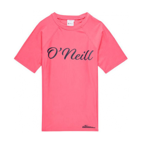 O'Neill PG LOGO S/SLV SKINS rosa - T-Shirt für Mädchen