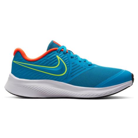Nike STAR RUNNER 2 GS blau - Kinder Laufschuhe