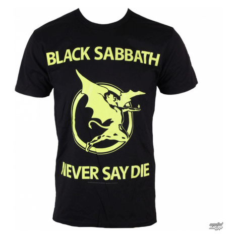 Metal T-Shirt Männer Black Sabbath - Never Day Die - BRAVADO - 34191014 XXL