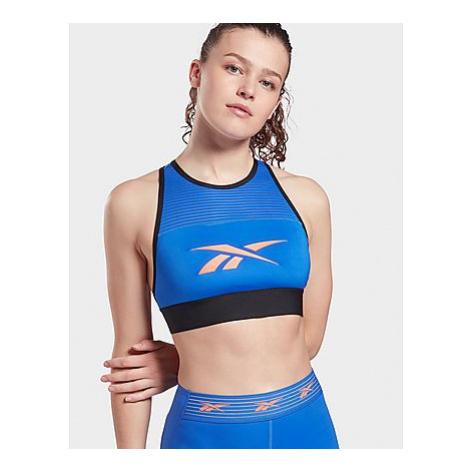 Reebok workout ready high neck sports bra - Court Blue - Damen, Court Blue