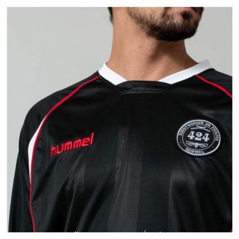 Hummel x 424 II Fourtwofour Jersey Long Sleeve Tee Black