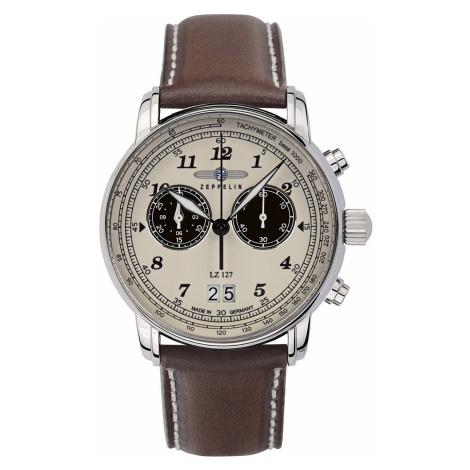 Zeppelin 8684-5 Herrenuhr Chronograph LZ127