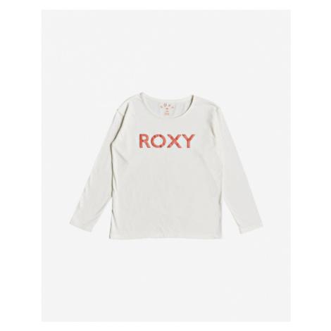 Roxy In The Sun Kinder  T‑Shirt Weiß