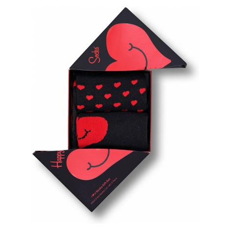 Happy Socks Geschenkbox VALENTINE SOCKS GIFT SET 2-PACK XVAL02-9300 Mehrfarbig