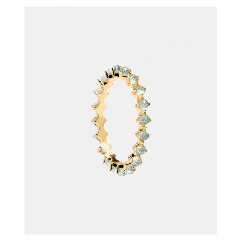 PD Paola Mint Bird Ring Gold