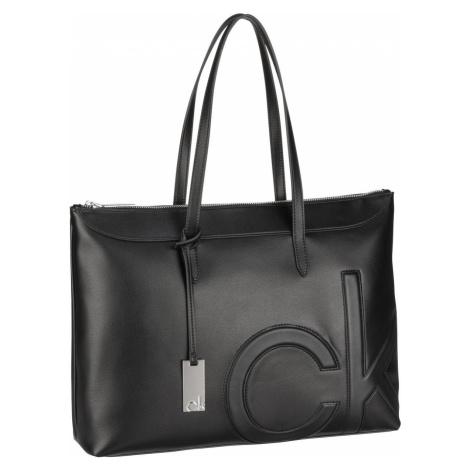 Calvin Klein Handtasche CK Embedded Shopper SP21 CK Black (10.6 Liter)