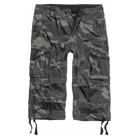 Herren Shorts 3/4 BRANDIT - Urban Legend Darkcamo - 2013/4