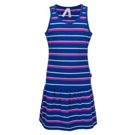 Lewro LAYA blau - Mädchenkleid