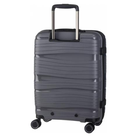 Graue reisekoffer und -gepäck für damen