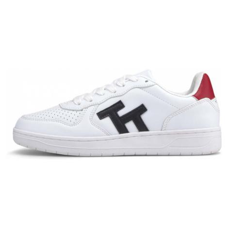 TOM TAILOR Damen Sneaker mit Logo, weiß/blau