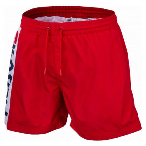 Fila HITOMI BEACH SHORTS rot - Herren Shorts