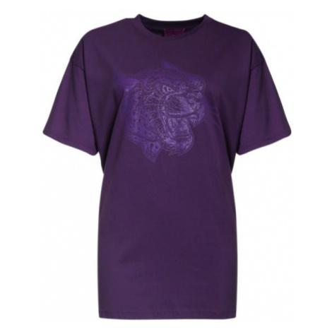 Crazy Leopard Plumy T-Shirt