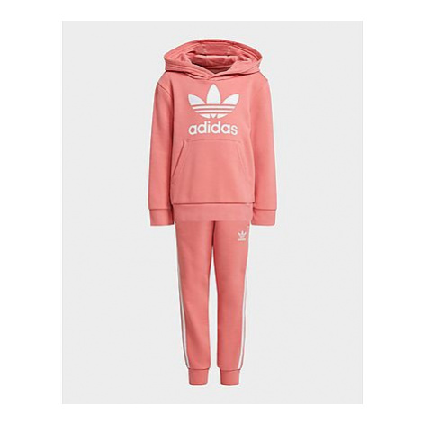 Adidas Originals Trefoil Hoodie-Set - Hazy Rose / White, Hazy Rose / White