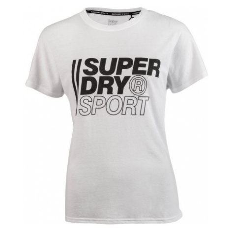 Superdry CORE SPORT GRAPHIC TEE weiß - Herrenshirt