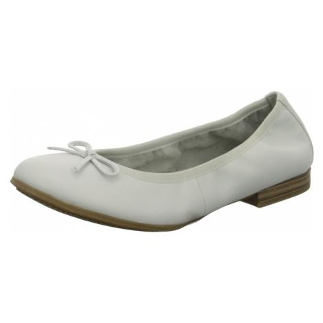 Damen Tamaris Ballerinas weiss TAMARIS white leather