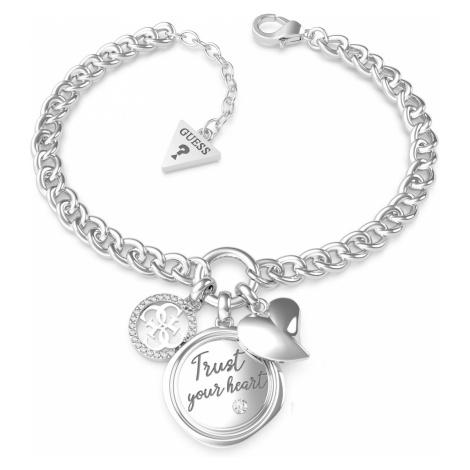 Guess JUBB70047JW Armband für Damen Trust Your Heart