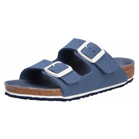 Unisex Birkenstock Jungen Sandalen blau Jungen Pantolette
