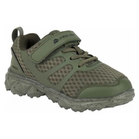 ALPINE PRO CAPTHE dunkelgrün - Kinder Sneaker