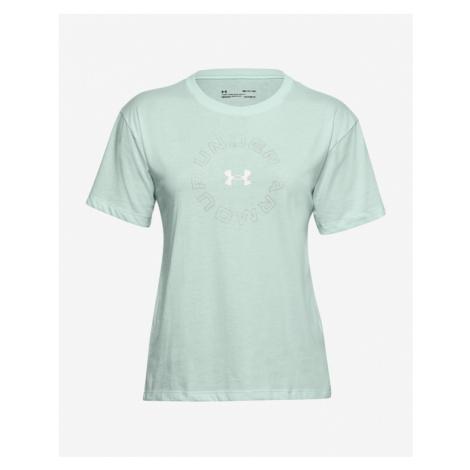 Under Armour Wordmark Graphic T-Shirt Grün