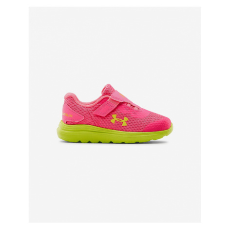 Under Armour Surge 2 AC Running Kinder Tennisschuhe Rosa