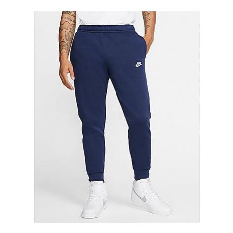 Nike Foundation Cuffed Fleece Jogginghose Herren - Herren, Midnight Navy/Midnight Navy/White