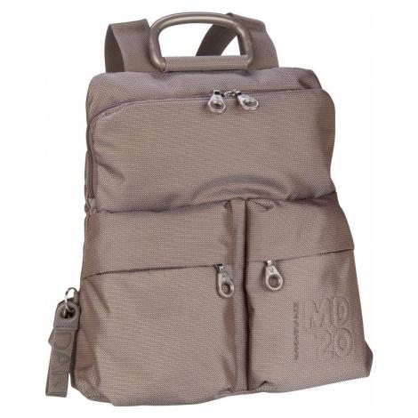 Mandarina Duck Rucksack / Daypack MD20 Slim Backpack QMTZ4 Taupe (14 Liter)