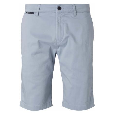 TOM TAILOR DENIM Herren Chino Slim Shorts, blau