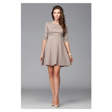 Damen Kleider M081 mocca Figl