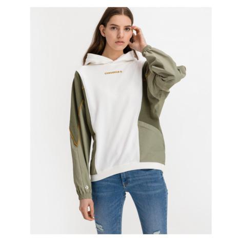 Converse Blocked Alt Terrain Sweatshirt Grün Weiß