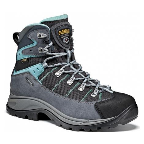 Schuhe Asolo Revert GV ML grau / rotguss / pool side/A177