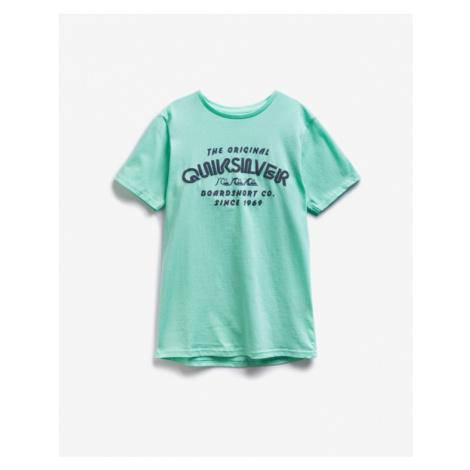Quiksilver Wilder Mile Kinder  T‑Shirt Grün