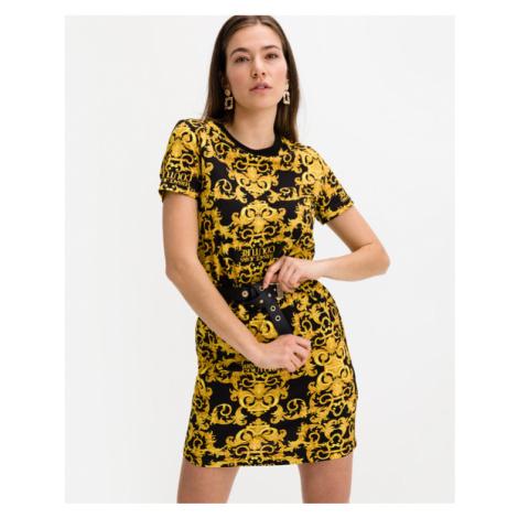 Versace Jeans Couture Kleid Schwarz Gelb